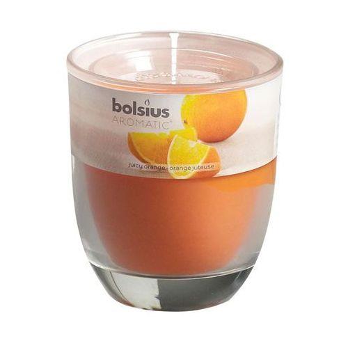Bolsius Świeca zapachowa aromatic zapach: pomarańczowy
