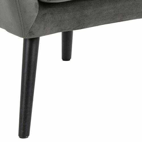 Fotel Astro VIC ciemny szary-kanon nowoczesnego designu podążającego za nowszymi kreacjami., kolor szary
