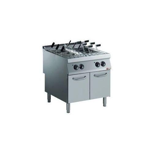 Urządzenie do gotowania makaronu z szafką | 400v | 2x 40l | 20kw | 800x900x(h)850/920mm marki Diamond