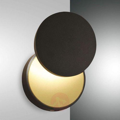 Kinkiet LED Ara, spot do czytania, czarno-złoty (8019282111764)