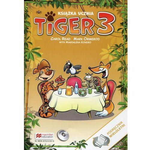 Tiger 3 Książka ucznia Podręcznik wieloletni z płytą CD (88 str.)