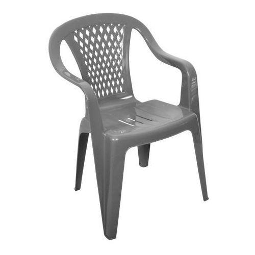 Obi Fotel ogrodowy diament szary