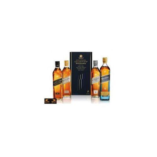 Whisky  collection pack 4 x 0,2l marki Johnnie walker