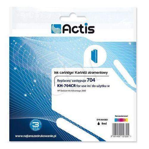 Actis KH-704CR (HP Nr 704 CN693AE) Kolor Darmowy odbiór w 21 miastach!, KH-704CR