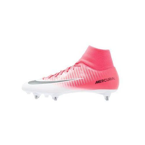 Nike Performance MERCURIAL VICTORY VI DF SG Korki wkręty racer pink/black/white