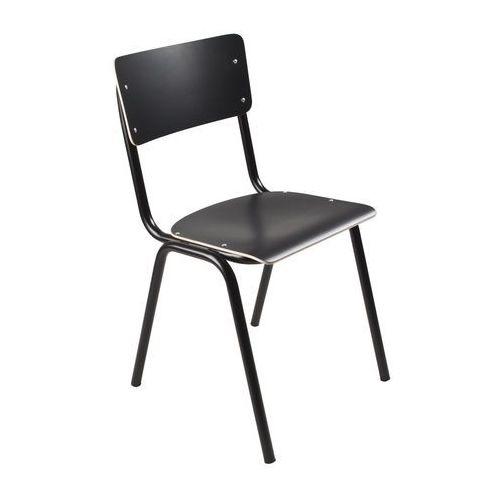 krzesło back to school hpl czarne 1008201 marki Zuiver
