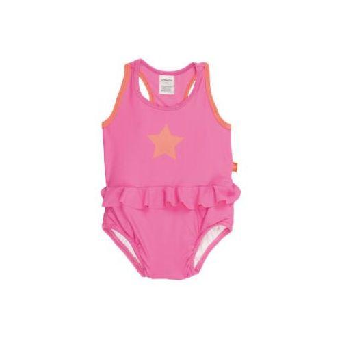 LÄSSIG Girls Strój kąpielowy Splash & Fun pink