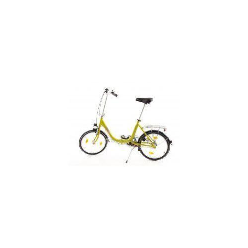 Aluminiowy rower składany składak niska rama mifa biria 3-biegi shimano, oliwkowy, marki Mifa germany