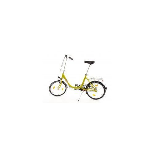 Najlepsze oferty - Mifa germany Aluminiowy rower składany składak niska rama mifa biria 3-biegi shimano, oliwkowy