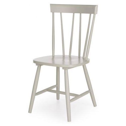 Drewniane krzesło oskin - popielate marki Elior.pl