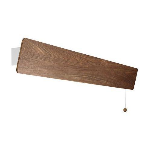 Nowodvorski 9313 oslo led kinkiet drewniany (5903139931397)