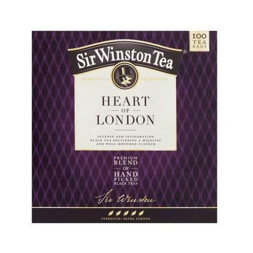 TEEKANNE 100x2g Sir Winston Heart Of London Aromatyzowana herbata czarna