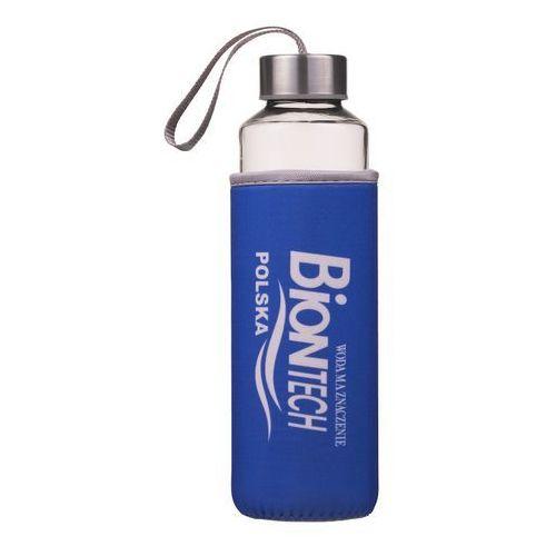 Biontech Butelka szklana na wodę 0,5l bidon bpa free