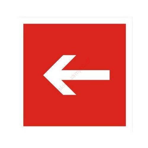 Techem Znak kierunek do sprzętu pożarniczego