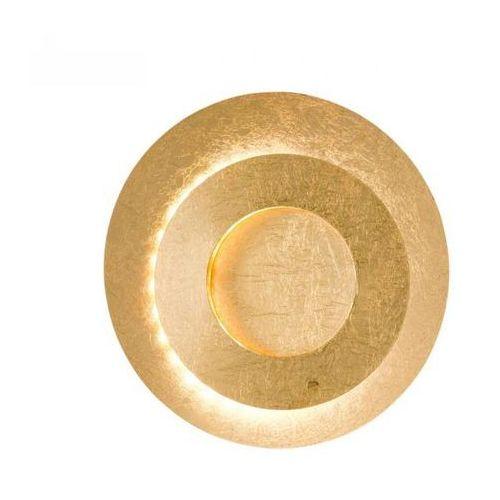 Wofi lauren kinkiet led złoty, 1-punktowy - nowoczesny/design - obszar wewnętrzny - lauren - czas dostawy: od 6-10 dni roboczych (4003474334912)