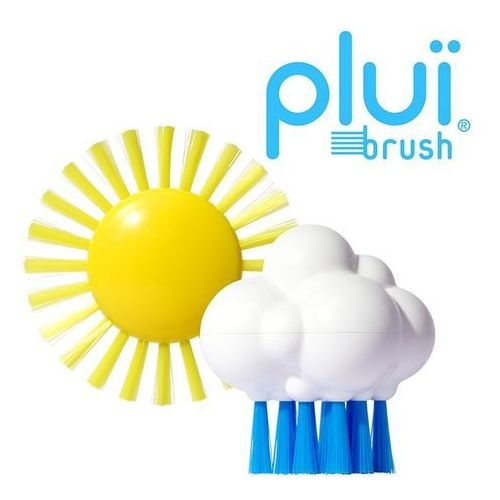 Szczoteczka do kąpieli plui brush - chmurka marki Moluk
