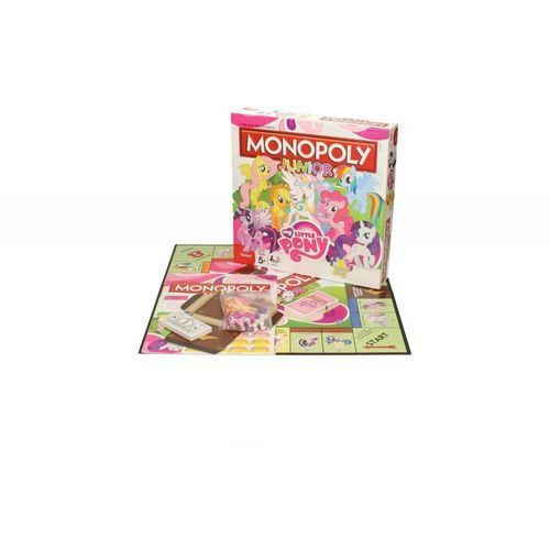 Hasbro. Monopoly junior, My Little Pony - gra planszowa, GWM-1008