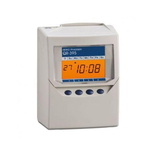 Zegar do rejestracji czasu pracy na kartach zegarowych marki Seiko