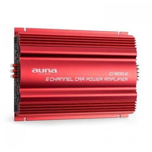 c500.6 samochodowy wzmacniacz 6-kanałowy 6 x 65 w rms marki Auna