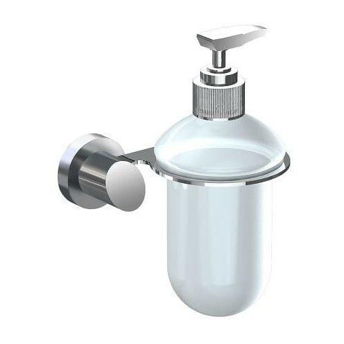novel dozownik mydła w płynie, stal szczotkowana 908sd marki Andex