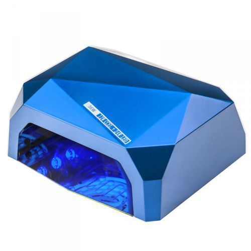 LAMPA Diamond 2w1 Uv Led+Ccfl 36w Timer + Sensor Blue, 10002_24015