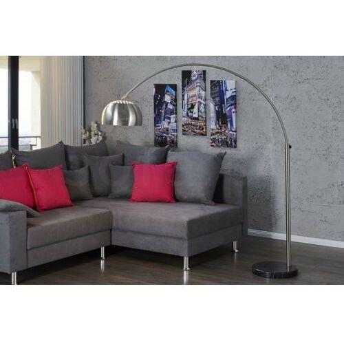 INVICTA Lampa podłogowa SLACK chromowana - 170-210 cm