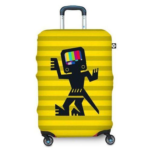 Pokrowiec na walizkę  l - caveman wyprodukowany przez Bg berlin