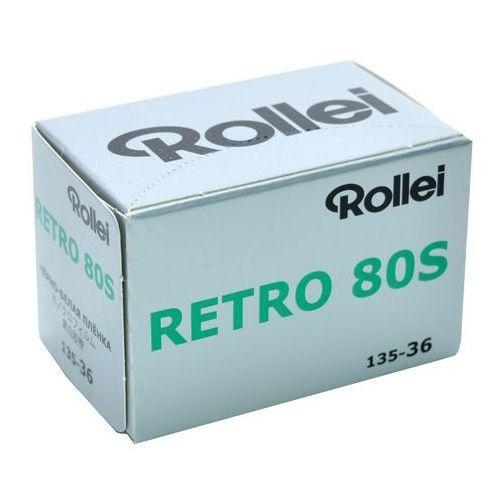retro 80s /36 negatyw cz/b nowość 2015 marki Rollei film