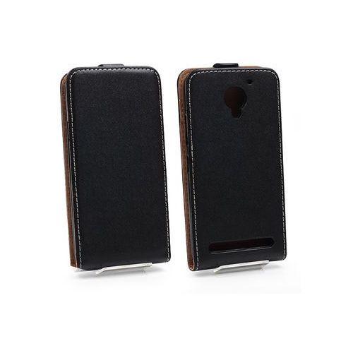 Lenovo Vibe C2 - etui na telefon Forcell Slim Flexi - czarny, kolor czarny