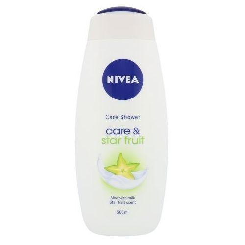 Nivea Care & Star Fruit Shower Gel 500ml W Krem pod prysznic