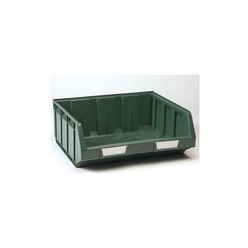 Otwarty pojemnik magazynowy z polietylenu,dł. x szer. x wys. 345 x 410 x 164 mm