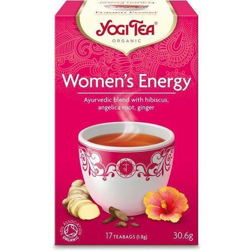 Herbata Dla Kobiet Energia BIO (Yogi Tea) 17 saszetek po 1,8g, YOGI