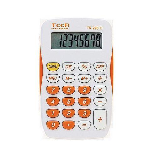 Kalkulator TOOR TR-295 8 pozycyjny kieszonkowy