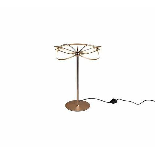 Trio Charivari 521210108 lampa stołowa lampka 1x26W LED brązowa