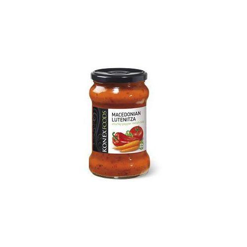 MACEDOŃSKA LUTENICA - pasta warzywna z kawałkami papryki , łagodna 290G. - KONEX FOODS, 12339