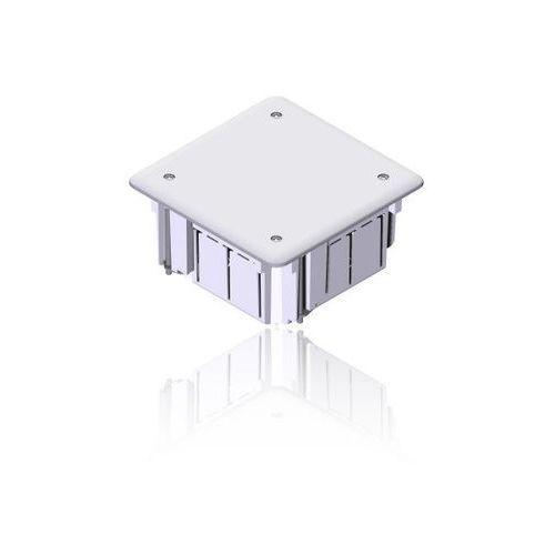 Elektro-plast nasielsk Puszka podtynkowa 98x98x50 z pokrywą 0261-01 install-box elektro-plast (5907569158867)