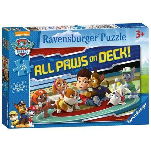 Ravensburger Puzzle 35el Psi Patrol 087761 - 4005556087761- natychmiastowa wysyłka, ponad 4000 punktów odbioru!, 11133