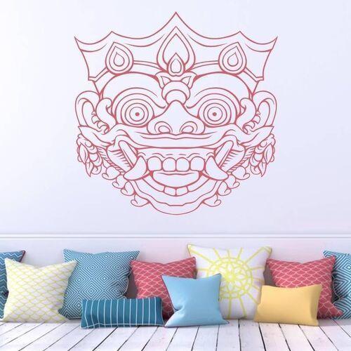 naklejka na ścianę maska z Bali 2096