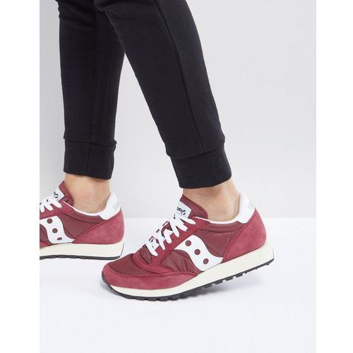 Saucony Jazz Original Trainers In Red S70368-11 - Red