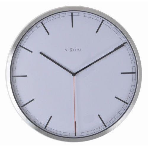 - zegar ścienny company 35 cm - biały marki Nextime