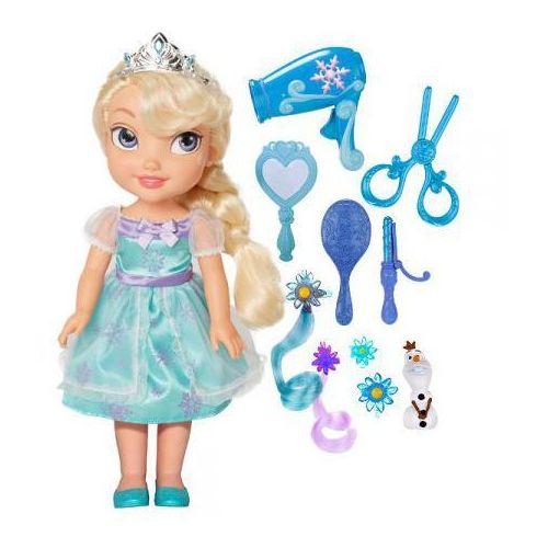 Jakks pacific Lalka frozen elsa + zestaw do włosów + darmowy transport!