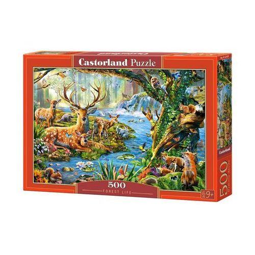 Castor Puzzle 500 forest life - od 24,99zł darmowa dostawa kiosk ruchu (5904438052929)