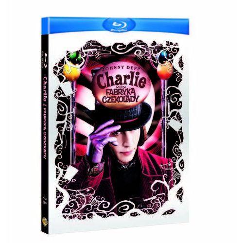 Kolekcja. Tim Burton: Charlie i Fabryka Czekolady. Blu-Ray - sprawdź w wybranym sklepie