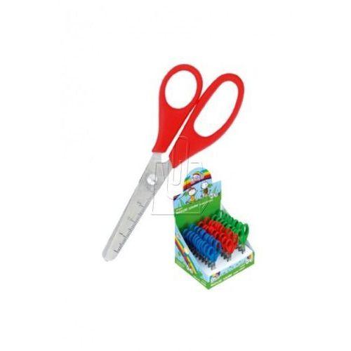 Nożyczki szkolne fiorello display 30 sztuk marki Kw trade