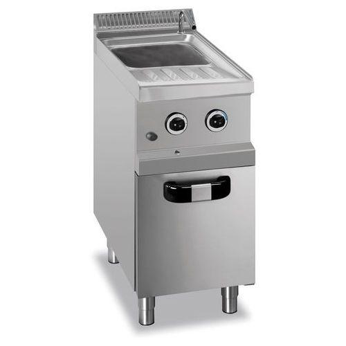 Urządzenie do gotowania makaronu i pierogów gazowe z szafką, 26 l, 400x700x850 mm | MBM, MG7GC477/SC