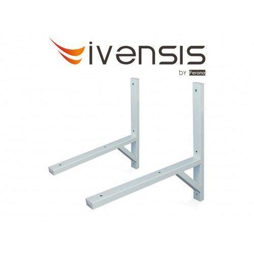 Wspornik ścienny spawany 800x800mm lakierowany proszkowo (it800) marki Ivensis