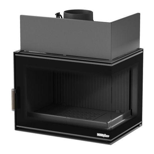 Wkład kominkowy NORDflam Torn Eko 12 kW żeliwny stalowy prawa szyba (5904341518727)