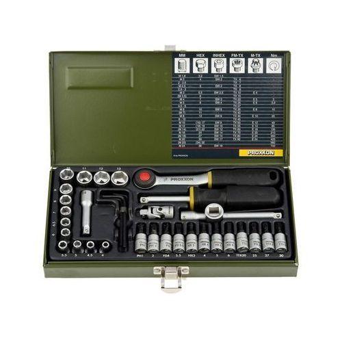 """Zestaw kluczy nasadowych 1/4"""" PRK23080 36 szt. PROXXON (4006274230804)"""