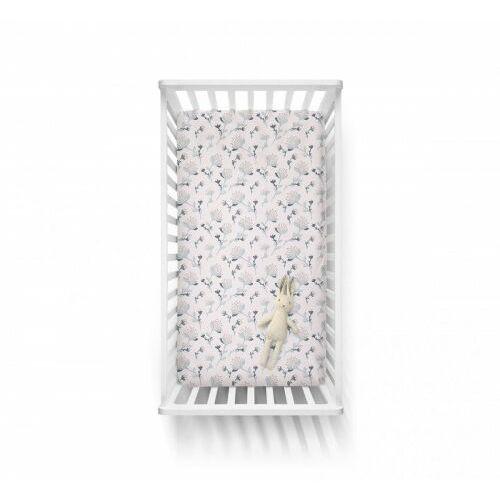 - bawełniane prześcieradło -kwiaty 70x140 cm marki Baby steps