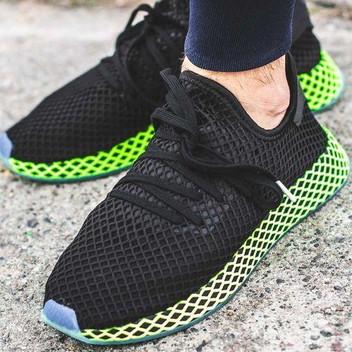 originals deerupt runner tenisówki czarny 41 1/3 marki Adidas